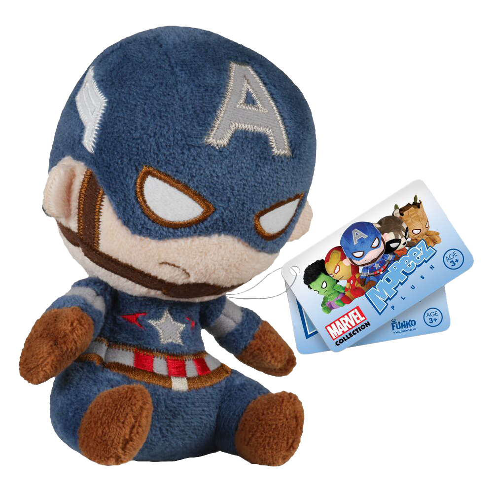 Mopeez Plush: Marvel Comics - Captain America