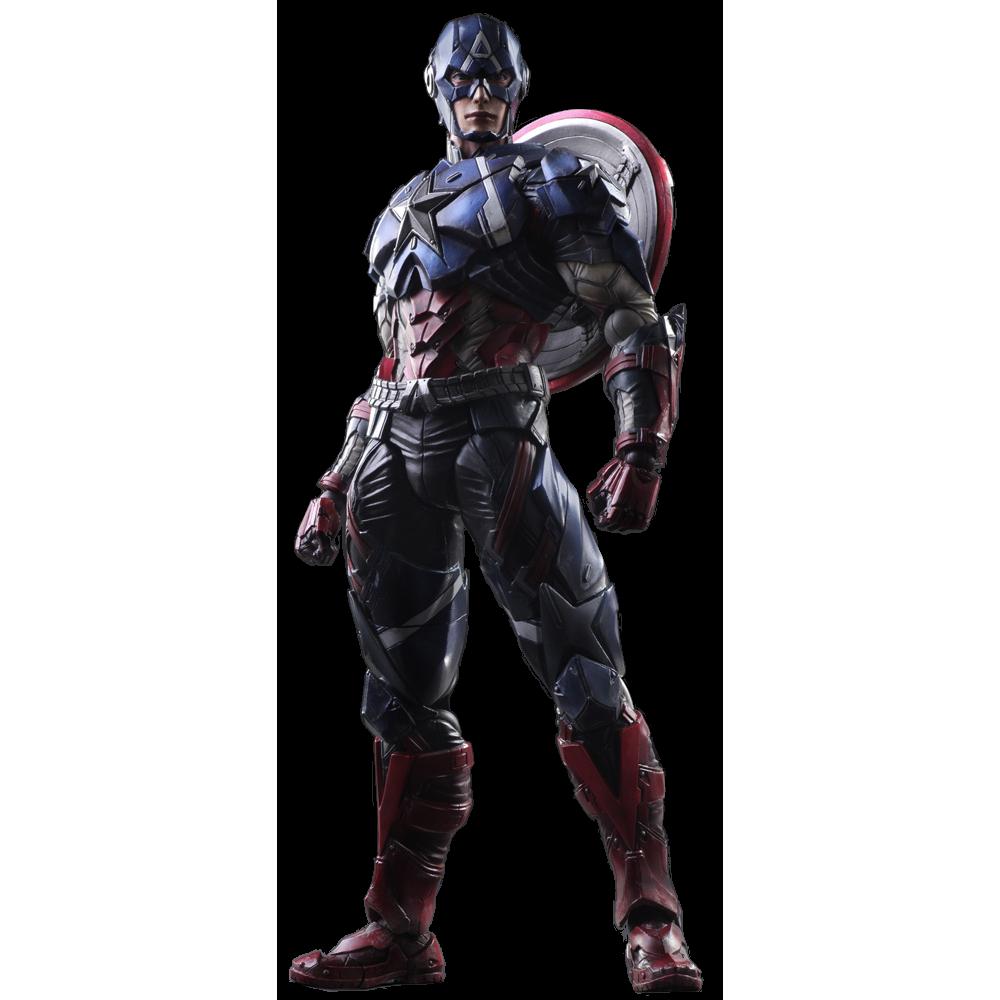 Play Arts Kai Action Figure: Captain America
