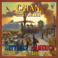 Catan Histories: Settlers of America – Trails to Rails