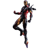 Play Arts Kai Action Figure: Iron Man Variant