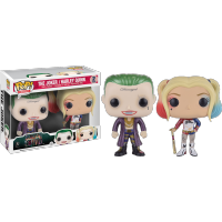 Funko Pop: Suicide Squad - Joker & Harley Quinn Metallic