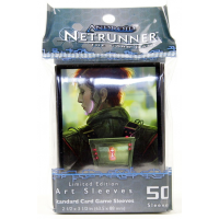 Android: Netrunner Art Sleeves - Deep Red