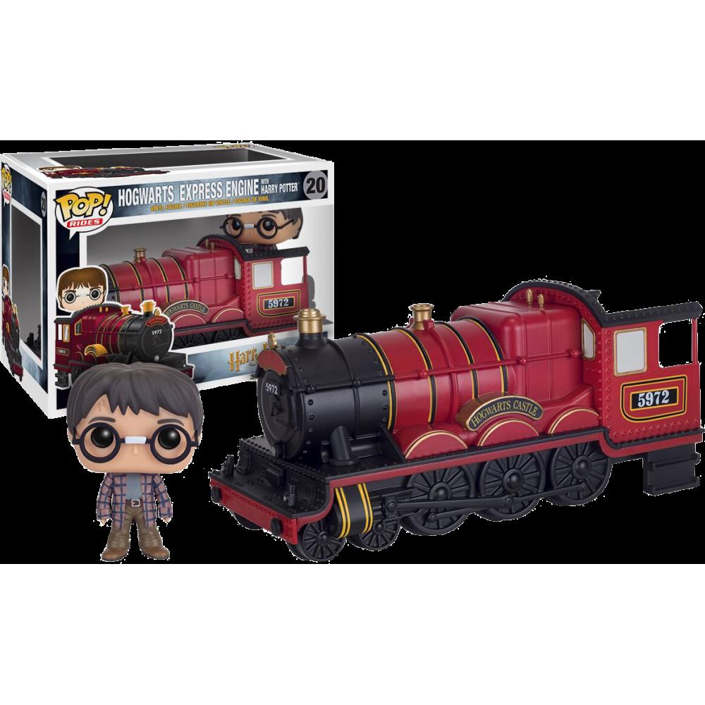 Funko Pop: Harry Potter - Hogwarts Express Engine With Harry Potter