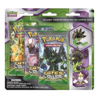 Pokemon Trading Card Game: Mega Alakazam and Zygarde 3-Pack Pin Blister