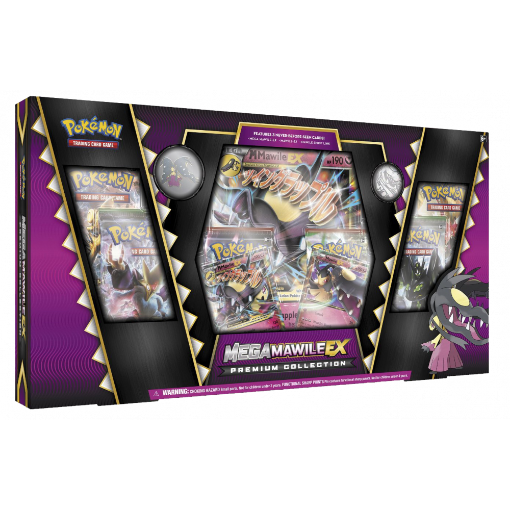 Pokemon Trading Card Game: Mega Mawile-EX Premium Collection Box