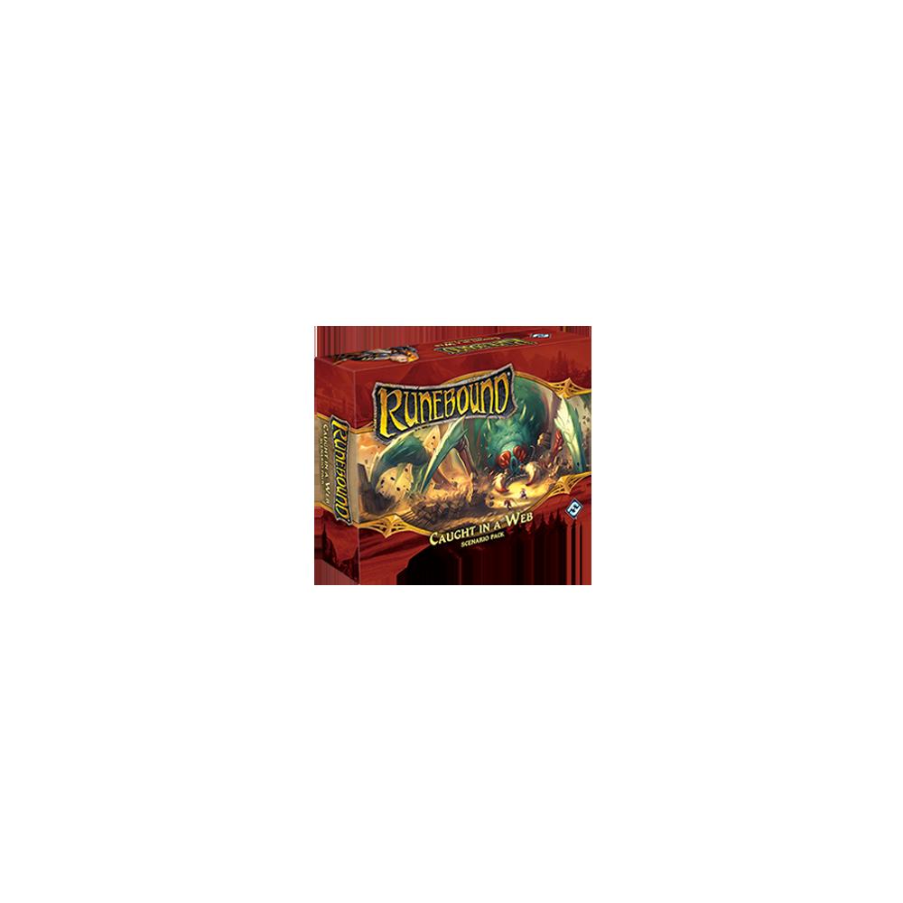 Runebound (ediţia a treia) - Caught in a Web (Scenario Pack)