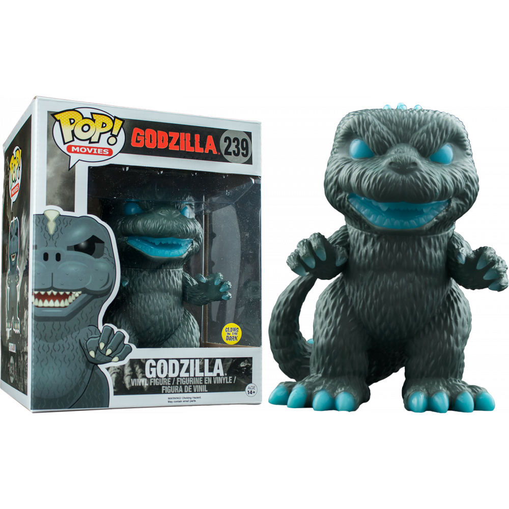 Funko Pop: Godzilla - Godzilla Atomic Breath Glow in the Dark (Super Sized)