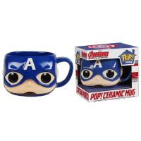 Funko Pop: Marvel Mugs - Captain America