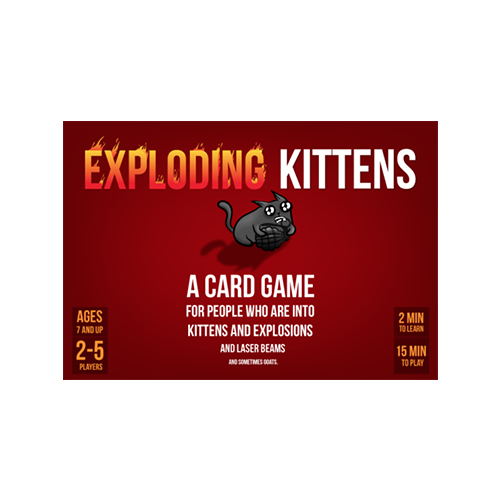 Exploding Kittens: Cutie care miauna