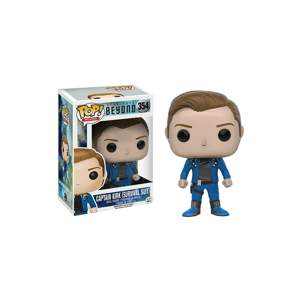 Funko Pop: Star Trek Beyond - Captain Kirk (Survival Suit)