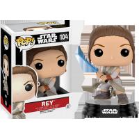 Funko Pop: Star Wars - Rey Battle Pose with Lightsaber