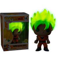 Funko Pop: Dragonball Z - Goku Glow-in-the-Dark""