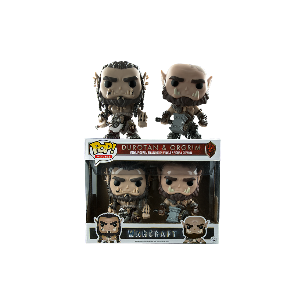 Funko Pop: Warcraft - Durotan & Orgrim