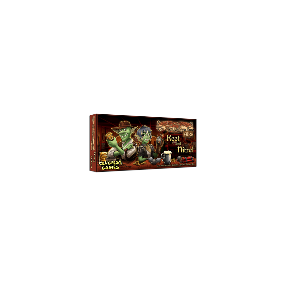The Red Dragon Inn: Allies – Keet and Nitrel