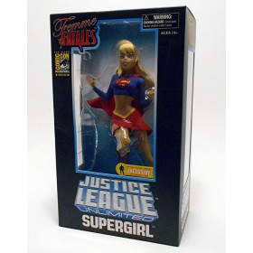 Femme Fatales: Justice League Unlimited - Supergirl