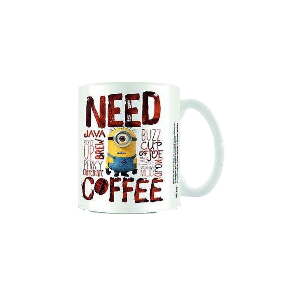 Despicable Me: Need Coffee Mug