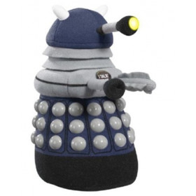 Doctor Who Blue Dalek Talking Plush