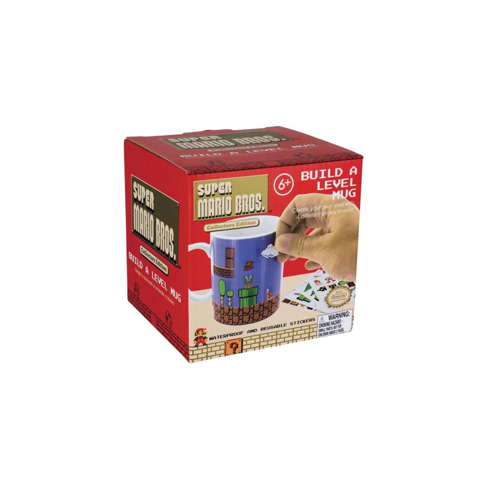 Super Mario Bros.: Build-A-Level Mug