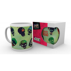 DC Comics: Suicide Squad - Skulls Mug