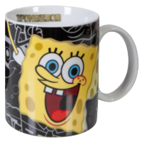 SpongeBob SquarePants: SpongeBob Mug (Black)