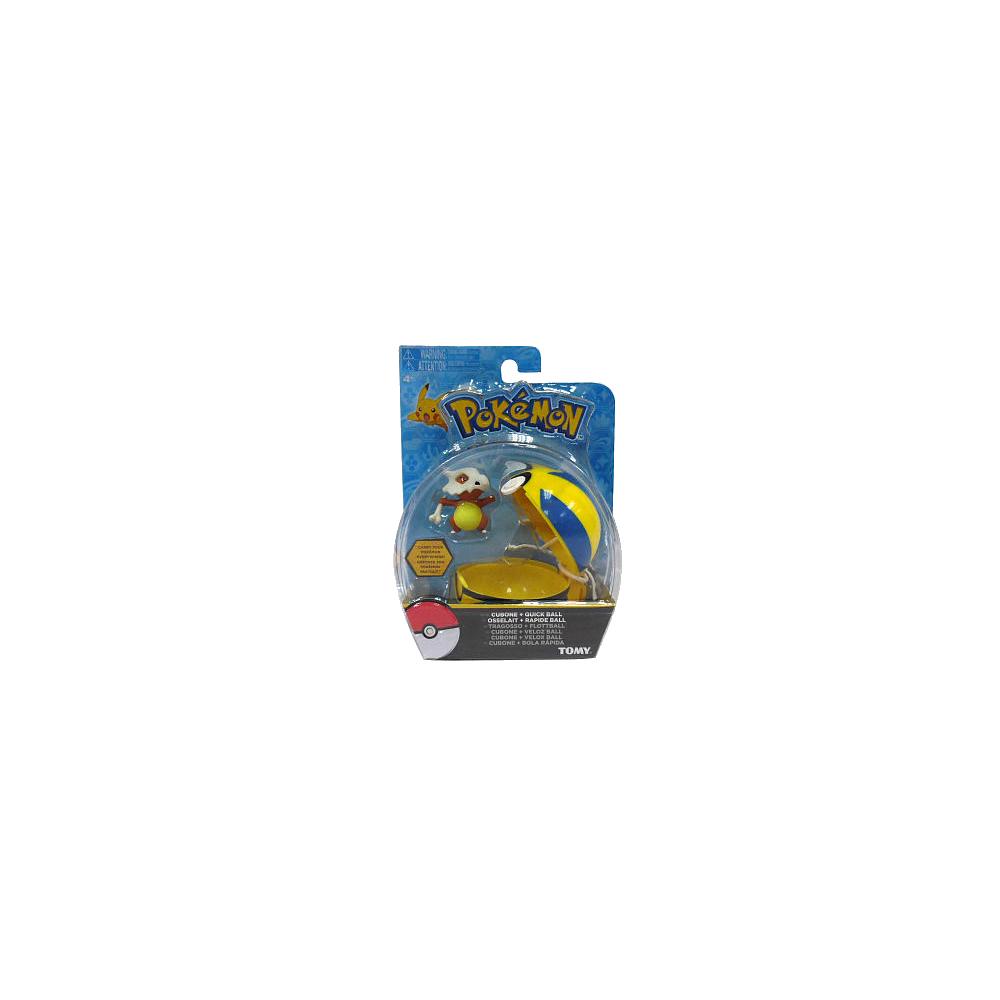 Pokemon: Clip n ́Carry Poke Ball - Cubone