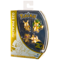 Pokemon: 20th Anniversary Metallic Mini Figures - Pikachu