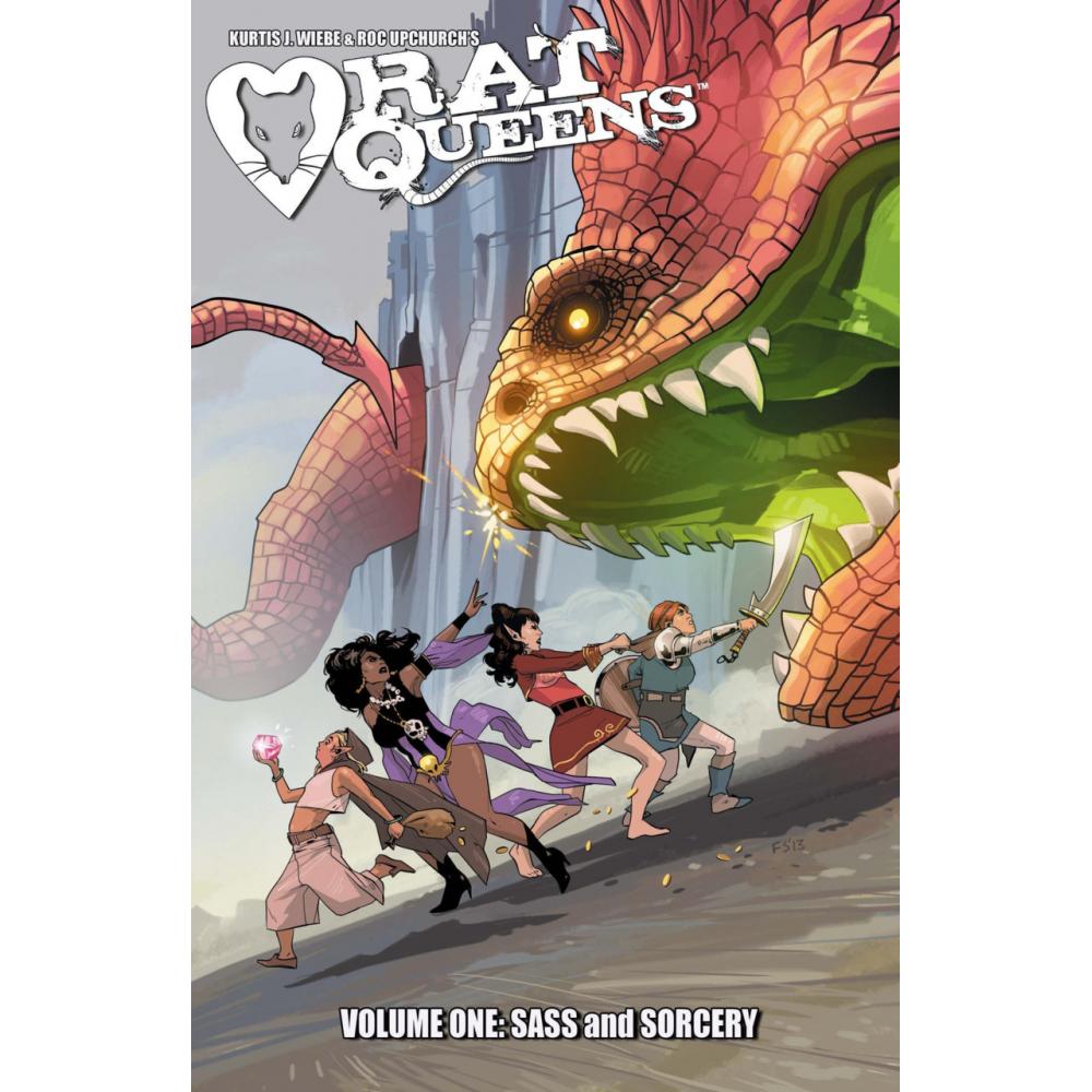 Rat Queens TP - Vol 01: Sass and Sorcery