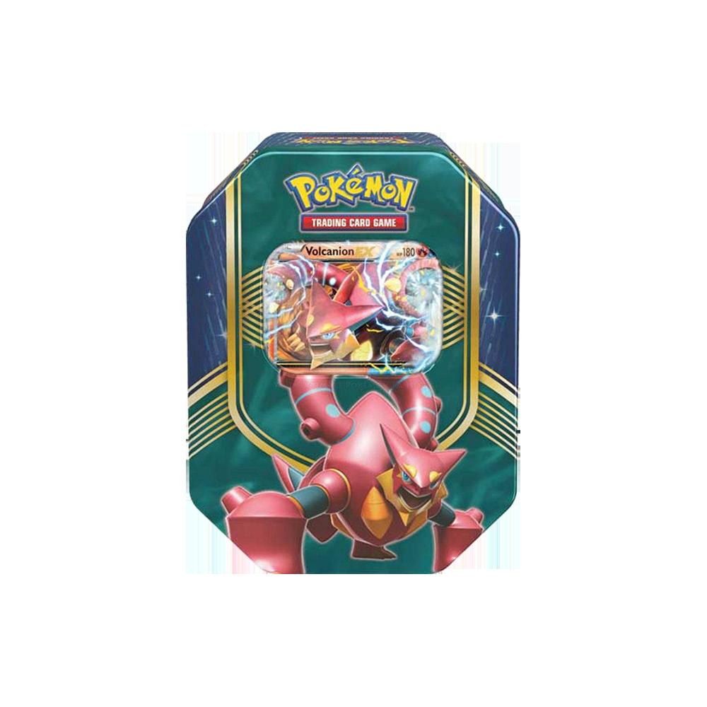Pokemon TCG Battle Heart Tin - Volcanion EX