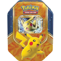 Pokemon TCG Battle Heart Tin - Pikachu EX
