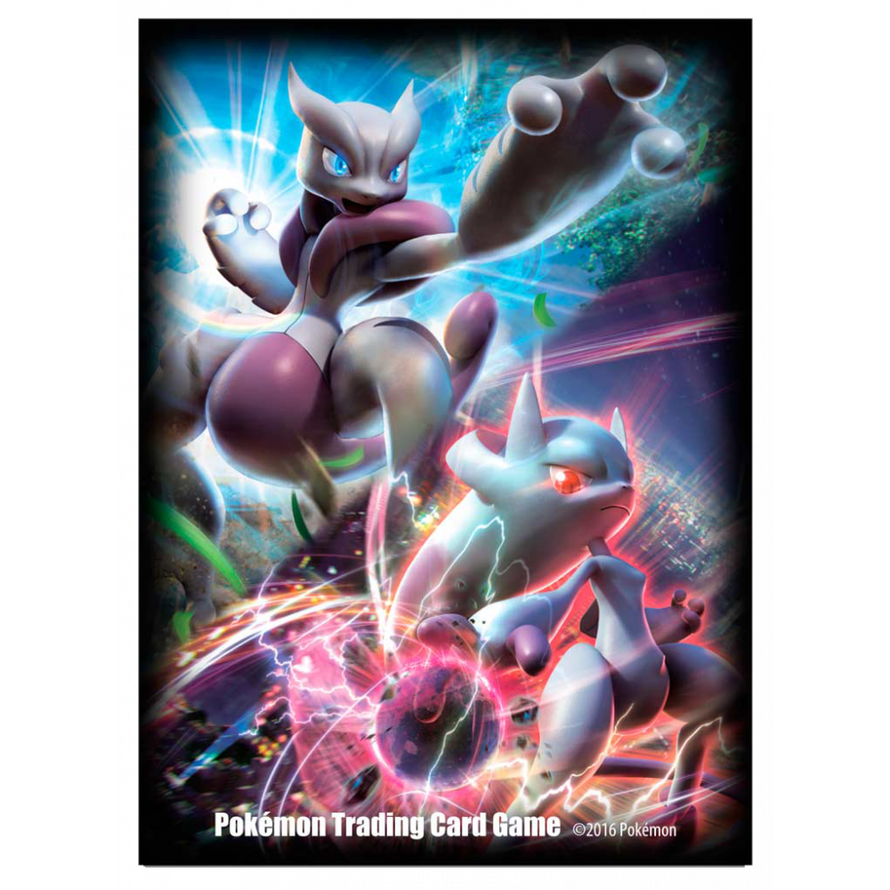 Ultra PRO Sleeves: Pokemon - Mega Mewtwo X&Y (65)