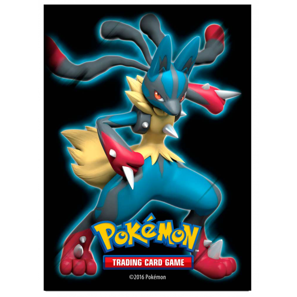 Ultra PRO Sleeves: Pokemon - Mega Lucario (65)