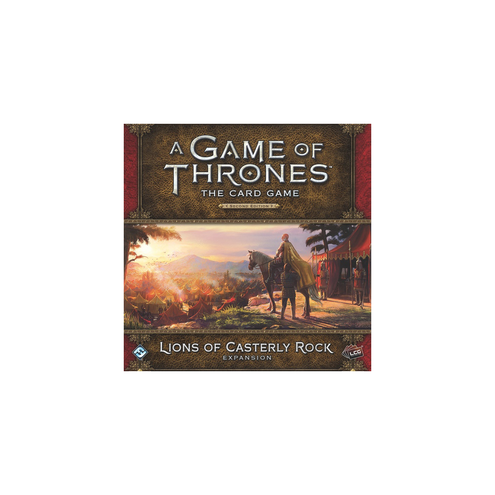 A Game of Thrones: The Card Game (ediția a doua) – Lions of Casterly Rock