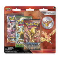 Pokemon Trading Card Game: Moltres Pin 3-Pack