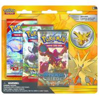 Pokemon Trading Card Game: Zapdos Pin 3-Pack