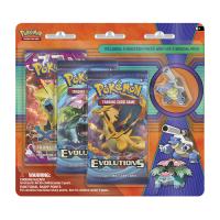 Pokemon Trading Card Game: Blastoise Pin 3-Pack