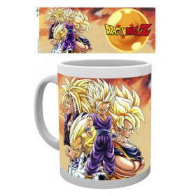 Dragon Ball Z: Super Saiyans Mug