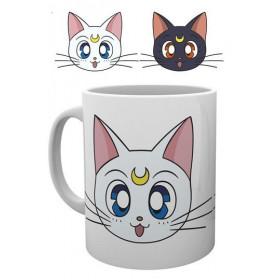 Sailor Moon: Luna & Artemis Mug