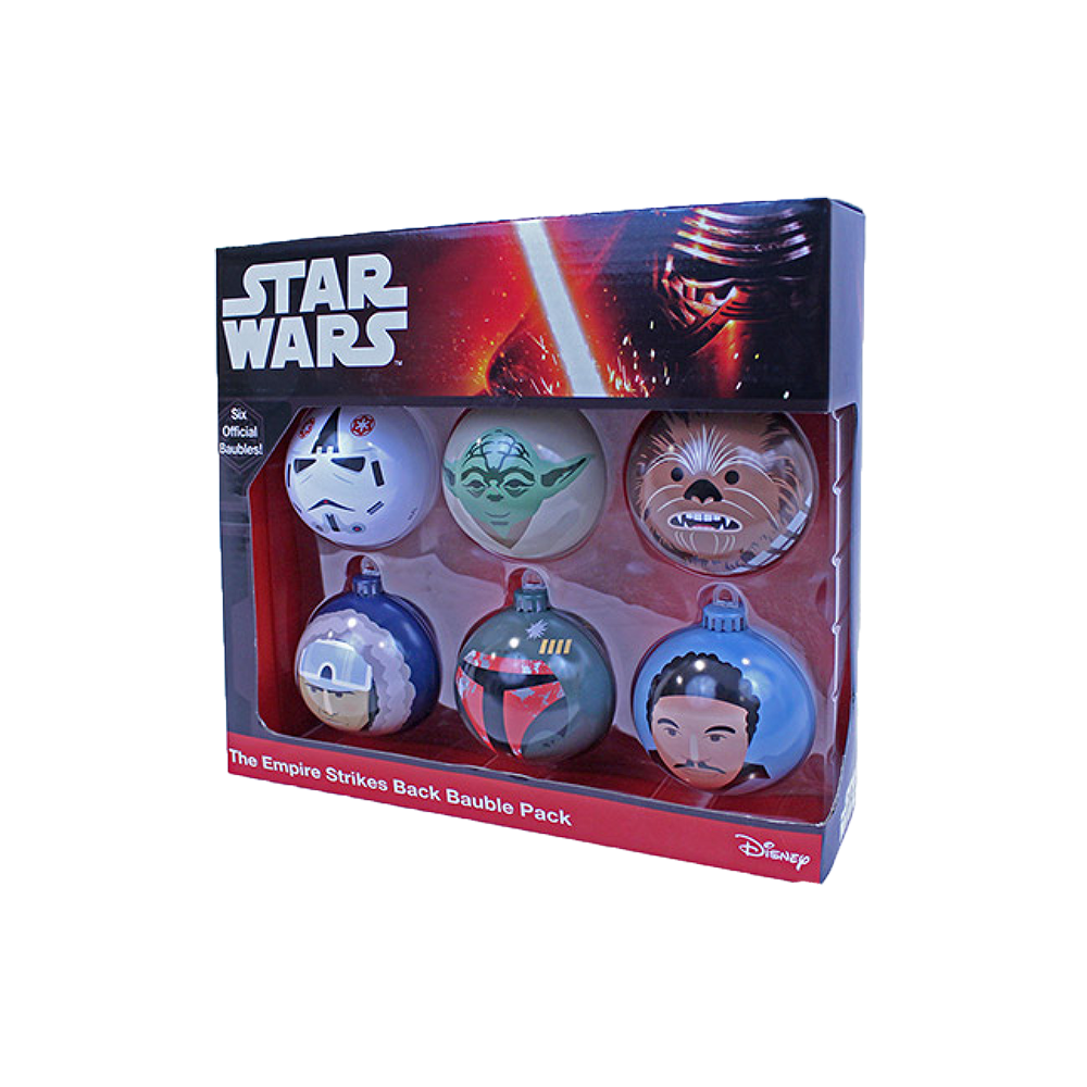Star Wars Empire Strikes Back Bauble Pack