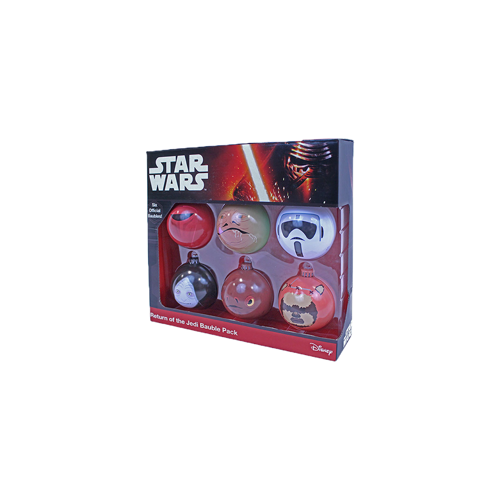 Star Wars Return of The Jedi Bauble Pack