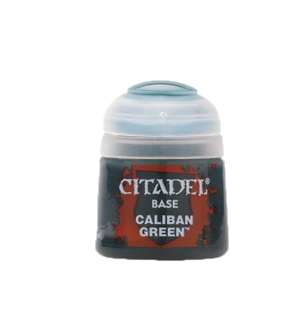 Warhammer: Base Paint - Caliban Green