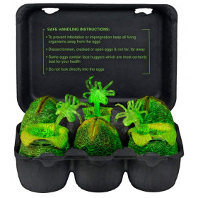 Alien – Glow-in-the-Dark Egg Set in Collectible Carton