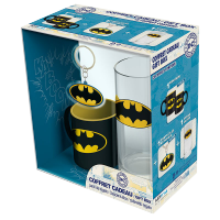 DC Comics Batman Mini-Mug/Glass/Keyring Gift Set