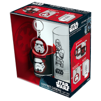 Star Wars Stormtrooper Mini-Mug/Glass/Keyring Gift Set