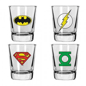 DC Comics Shot glass 4-Pack Heroes