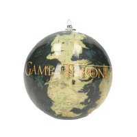 Ornament: Game of Thrones World Map & Logo