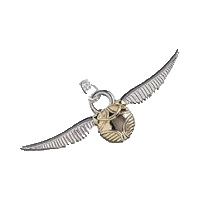 Harry Potter Pendant & Necklace The Golden Snitch (silver)