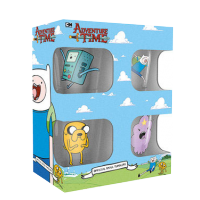 Adventure Time Shot glass 4-Pack