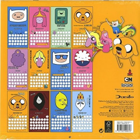 Adventure Time: Calendar 2017