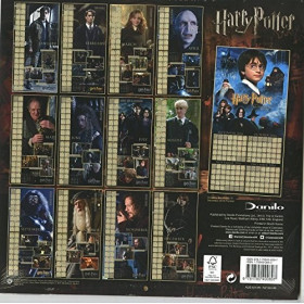 Harry Potter: Calendar 2017