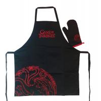 Game of Thrones: Șorț și mănușă de bucătărie Targaryen
